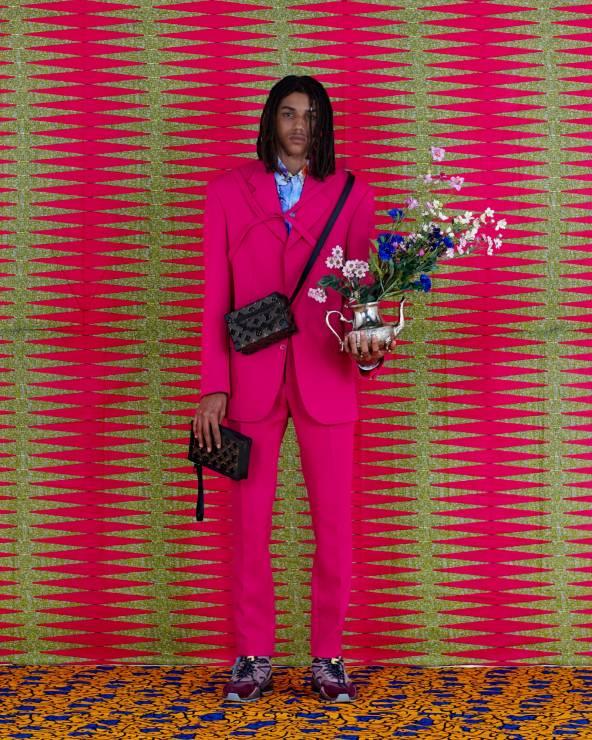 LV Louis Vuitton kolory piękna kampania