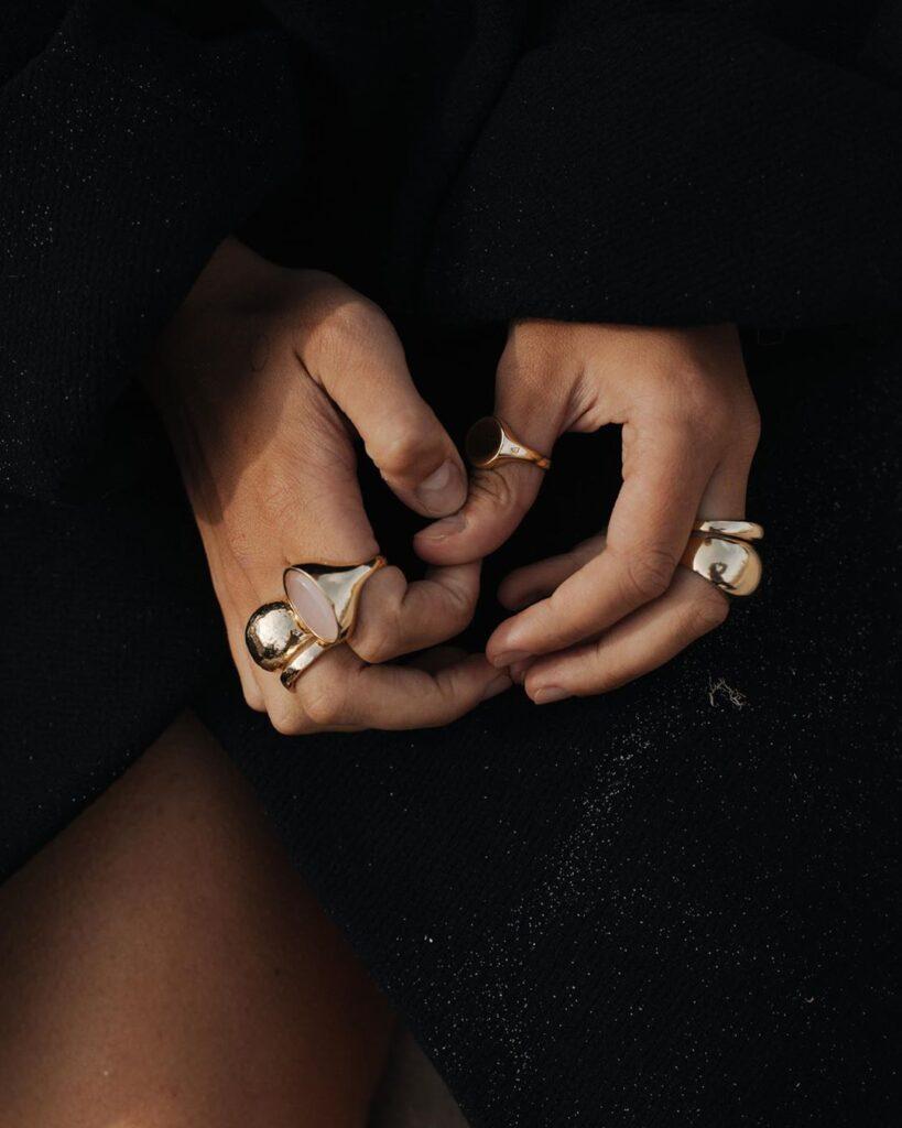 złota biżuteria polska marka piękne kolczyki