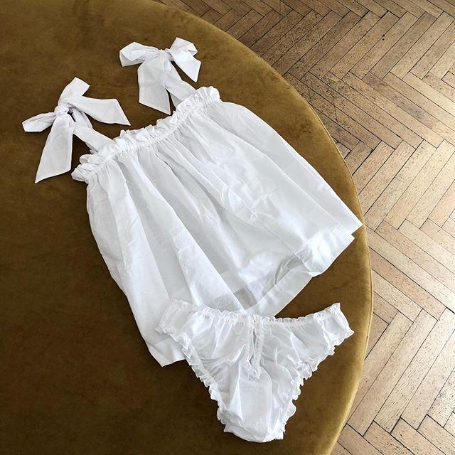 komplet piżama piżamka piękna dziewczęca retro vintage stylowa piżama