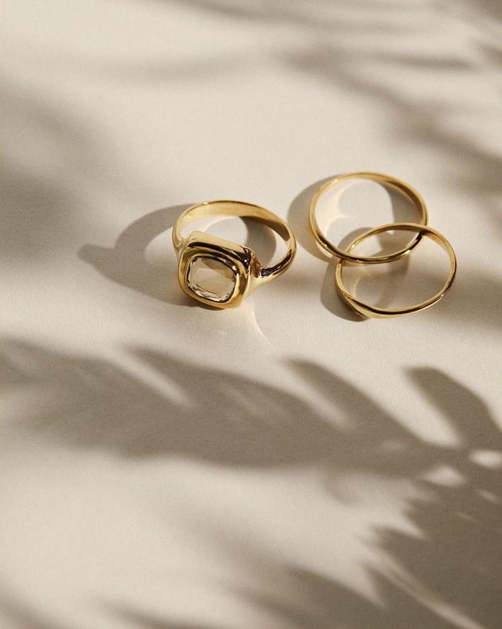 piękne kolczyki piękny pierścionek