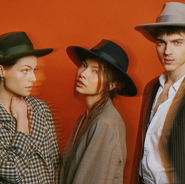 piękny kapelusz, stylowy kapelusz Hat Up