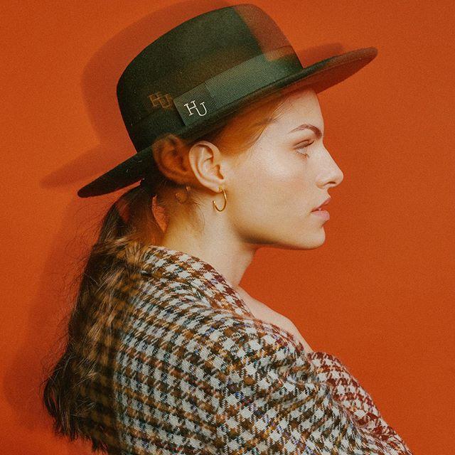 elegancki kapelusz, wełniany kapelusz