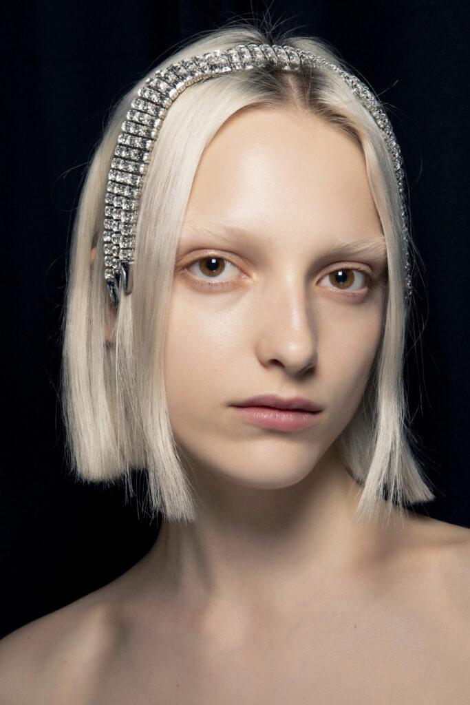 piękne opaski moda modne opaski  cyrkonie kryształki
