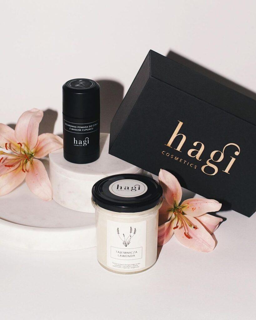 naturalna pielęgnacja, zestaw kosmetyków, hagi, piękna cera