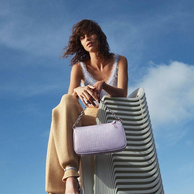 CCC, letnie buty, buty nalato, sandały, piękna torebka, klapki, moda nalato 2021, co będzie modne, liliowa torebka